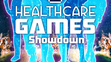 HEALTHCARE + VIDEO GAME INTERNSHIP + IMPROV COMEDY LIVESTREAM = HEALTHCARE GAMES SHOWDOWN™